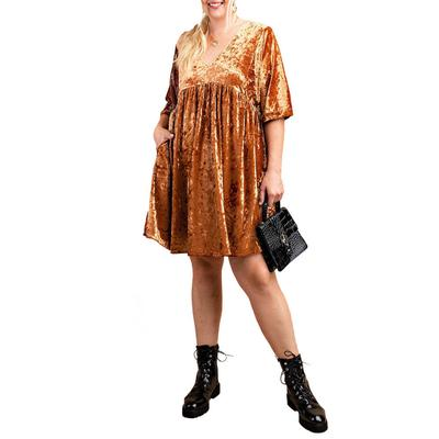 Kori Women's Ice Velvet Mini Dress