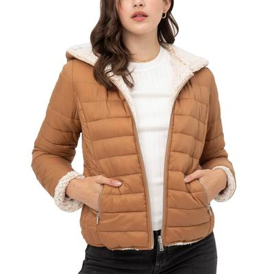 Love Tree Women's Reversible Sherpa Jacket