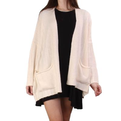 Hyfve Women's Ivory Sweater Cardigan