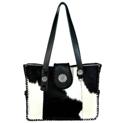 Delila Hair-On Hide Wide Tote