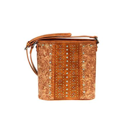 Embossed Conceal Carry Crossbody