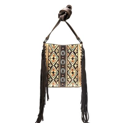 Trinity Ranch Conceal Collection Fringe Crossbody