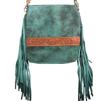 American Darling Turquoise Fringe Crossbody