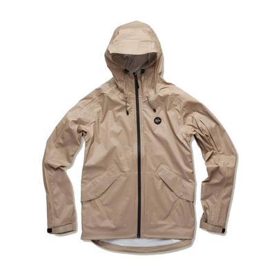 Howler Brothers Men's Aguacero Khaki Rainshell Jacket