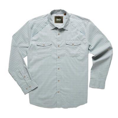 Howler Brothers Men's Firstlight Dawn Blue Tech Shirt