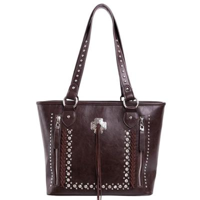 Montana West Concho Collection Conceal Carry Tote