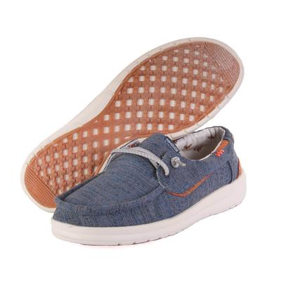 Hey Dude Men's Welsh Chambray Blue