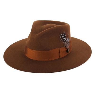 Stetson Women's Cognac Estate Felt Hat