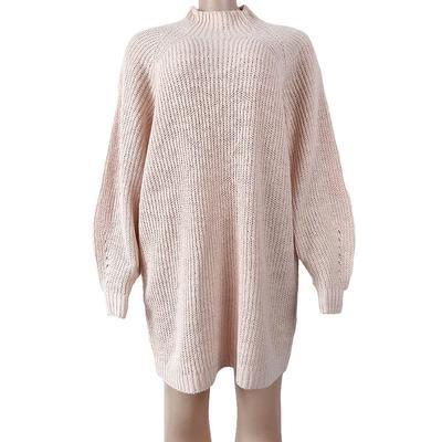 Women's Turtle Neck Sweater Dress