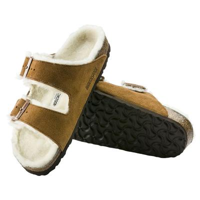 Birkenstock Women's Mink Arizona Shearling