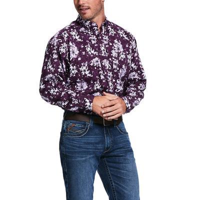 Ariat Men's Rio Print Stretch Classic Irises Shirt