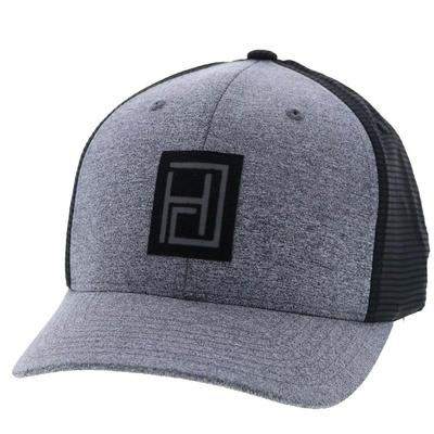 Hooey Men's Smoked Grey and Black Cap