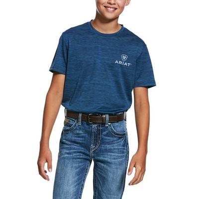 Ariat Boy's Blue Pine Charger T- Shirt
