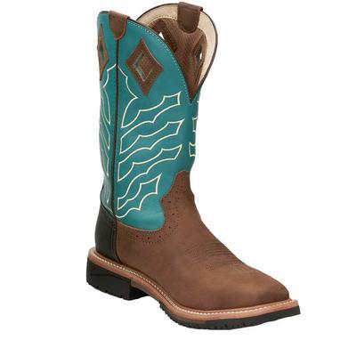 Justin Men's Derrickman Steel Toe Work Boots