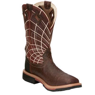 Justin Men's Derrickman Composite Toe Work Boots