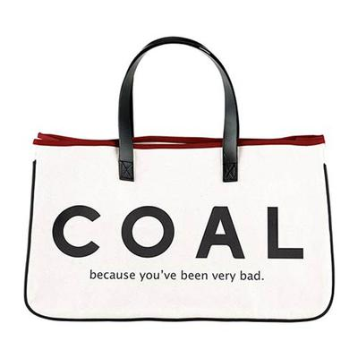 Canvas Coal Tote