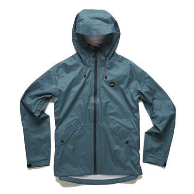 Howler Brothers Men's Aguacero Teal Rainshell Jacket