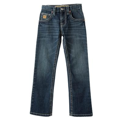 Cinch Boy's Dark Wash Slim Fit Jeans