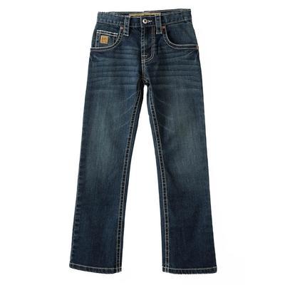Cinch Boy's Dark Stonewash Slim Fit Jeans