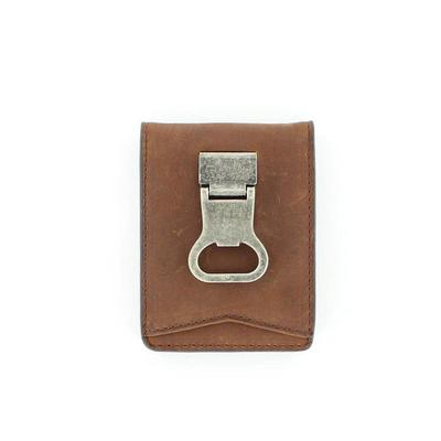 Men's M&F Bifold Metal Clip Wallet