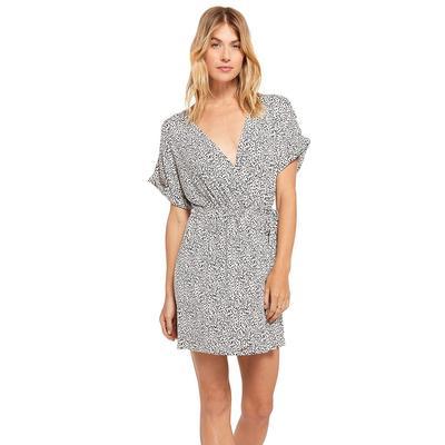 Z Supply Women's Torre Mini Leopard Wrap Dress