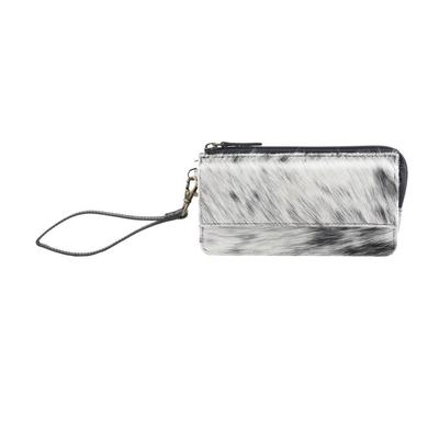 Myra Bag Mesmerizing Monochrome Hair-On Wallet