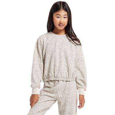 Z Supply Girl's Carmen Leopard Pullover