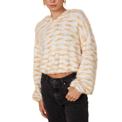 Women's Relaxed Fuzzy Hoodie