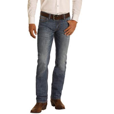 Rock & Roll Men's Slim Fit Revolver Jeans