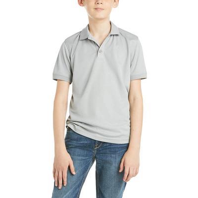 Ariat Boy's Grey Tek Polo