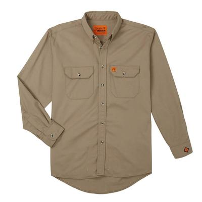 Wrangler Riggs Flame Resistant Button Up Work Shirt