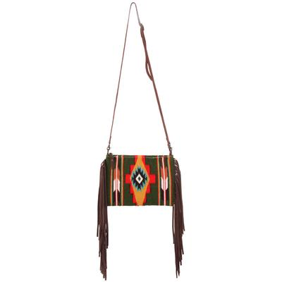 American Darling Crossbody Saddle Bag with Fringe