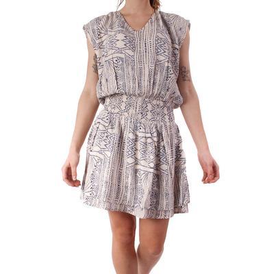Kori Women's Crinkle Aztec Print Dress