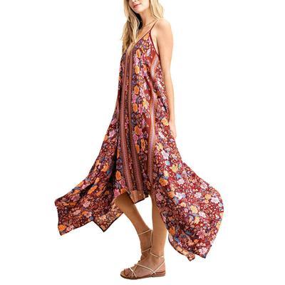 Kori Women's Floral Hankerchief Dress