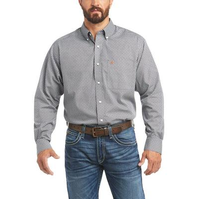 Ariat Men's Wrinkle Free Ernie Classic Fit Shirt