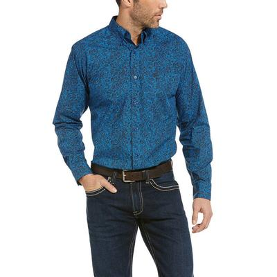 Ariat Men's Railey Casual Fit Long Sleeve Shirt