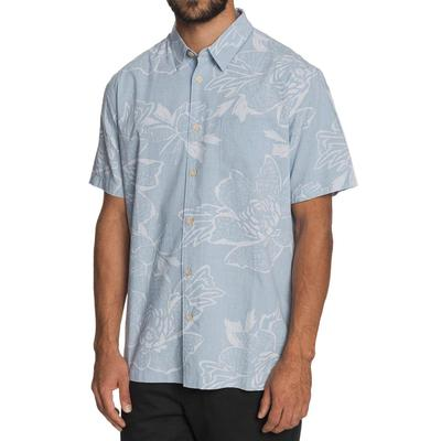 Quiksilver Men's Waterman Hatch Rose Button Shirt