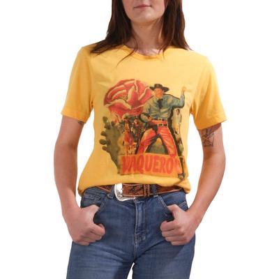 Gina Tees Women's Vaquero Graphic T-Shirt