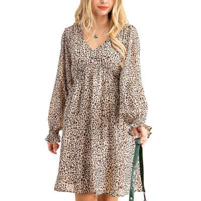 Kori Women's Leopard Print Dress