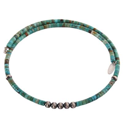 Women's Turquoise Choker Necklace