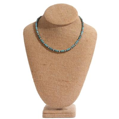 Women's Turquoise Beaded Necklace