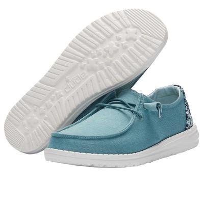 Hey Dude Women's Sea Blue Wendy Stretch