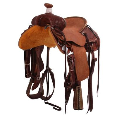 Rancher Half Breed Roper Saddle