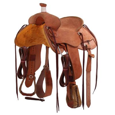 All Rough Out Ranch Roper Saddle