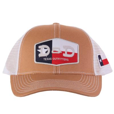 Men's Tan D&D Texas Flag Cap