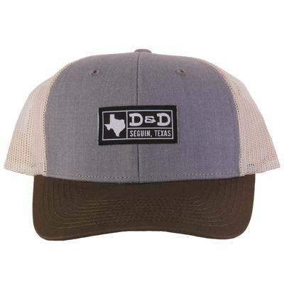 Men's D&D Small Texas Flag Cap