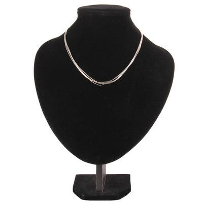 Women's Liquid Silver Necklace