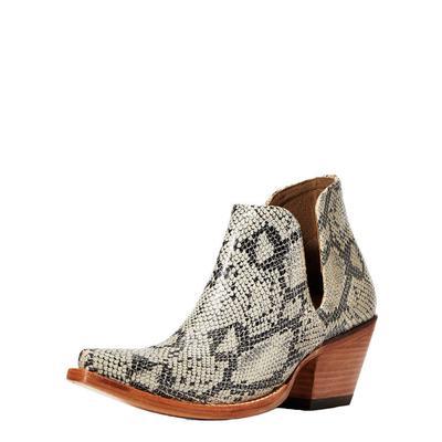 Ariat Women's Snakeprint Dixon Ankle Boots