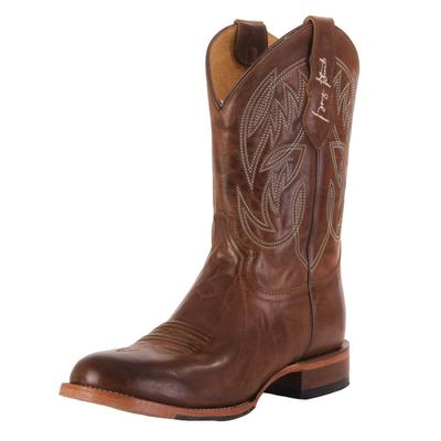Justin Men's Brown George Straight Western Boots