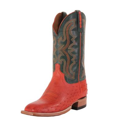 Lucchese Men's Pimento Smooth Ostrich Western Boots